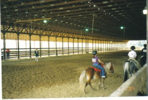 Double D Equestrian Center covered arena